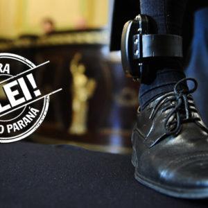 Agora é Lei | Sancionado projeto de Pacheco que obriga os presos a pagarem por tornozeleiras