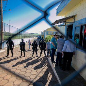 Deputados das Comissões de Segurança Pública e de Direitos Humanos e Cidadania visitam a PEC