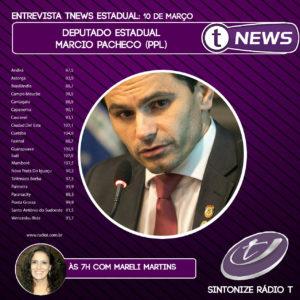 Pacheco é entrevistado no T News – Edição Estadual