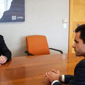 Reassentamento São Francisco | Pacheco se reúne com presidente da Copel e cobra celeridade na regularização de lotes