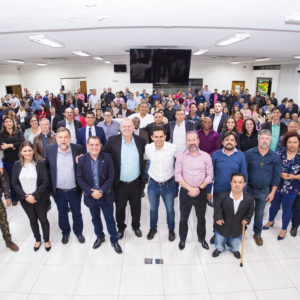 Convenção | PPL homologa apoio as pré-candidaturas do Professor Jorge Bernardi ao governo, Flavio Arns ao Senado e Marcio Pacheco à reeleição na Assembleia