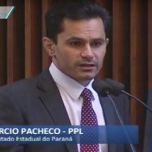 Pacheco defende direitos de servidores da COPEL