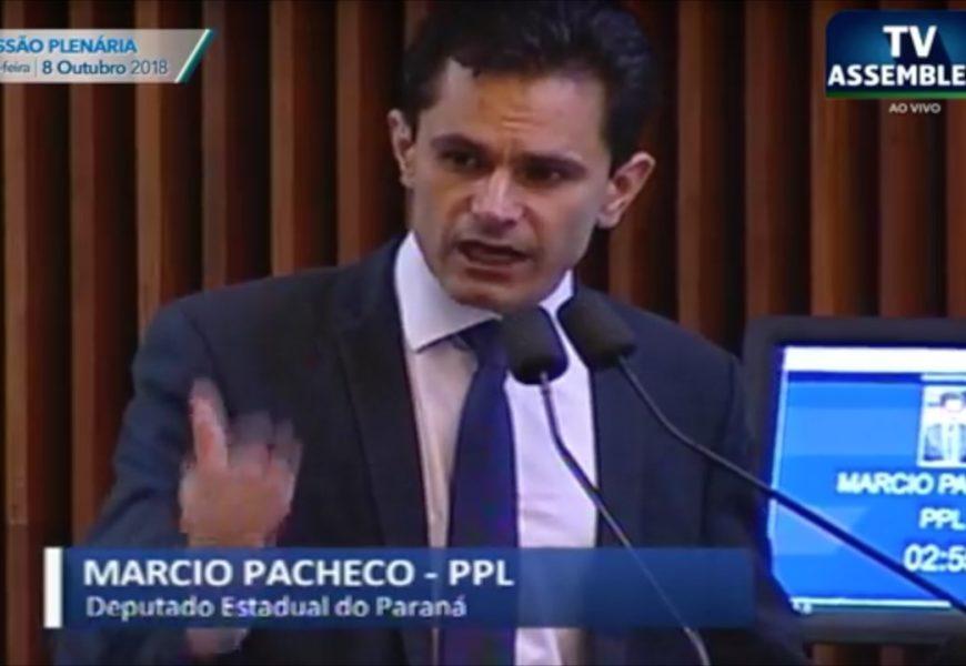 08.10.18 – Pacheco agradece os 39.323 votos conquistados