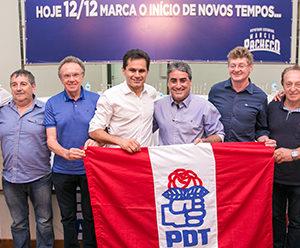Pacheco no PDT | Um grande marco na política do Paraná