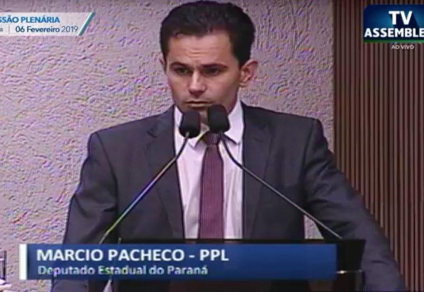 Pacheco presta homenagem a TV Tarobá por seus 40 anos de fundação