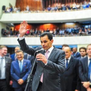 Pacheco toma posse como deputado estadual e elege prioridades para novo mandato