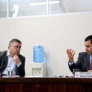Em encontro com Secretário de Saúde, Pacheco cobra conclusão plena da Ala de Queimados do HU
