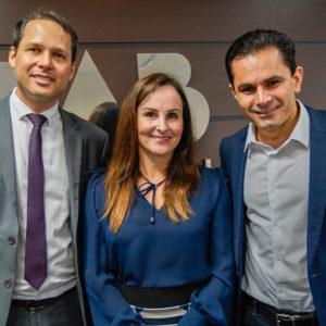 Fundador do COGESP há seis anos, Pacheco participa da posse de novo presidente e vice