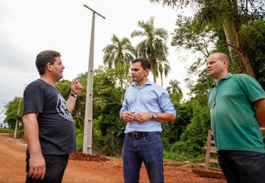 Após solicitação de Pacheco, Copel leva energia até Recanto Maranatha em Cafelândia