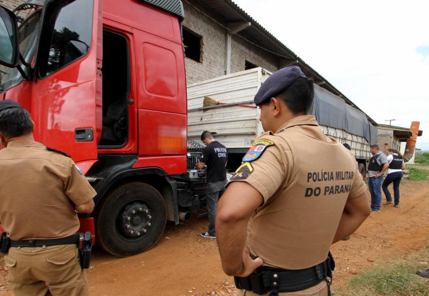 Pacheco cobra regulamentação de lei que fortalece combate ao roubo de cargas no Paraná