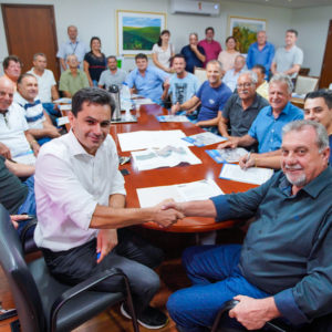 Pacheco anuncia mais de R$ 1 milhão para   calçamento poliédrico no interior de Ubiratã