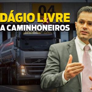 Pedágio livre para Caminhoneiros | Pacheco e outros deputados assinam Requerimento