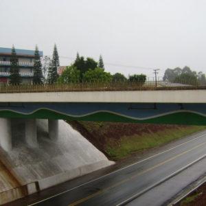 Viaduto na Carlos Gomes com a BR-277 ganha oficialmente o nome de Arlindo Carelli