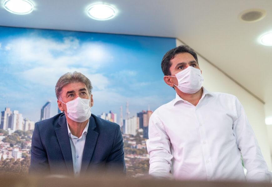 Pacheco se reúne com Paranhos para debater Espaço Inclusivo e emendas encaminhadas ao município
