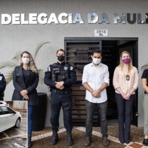 Pacheco conquista Viatura descaracterizada para Delegacia da Mulher em Cascavel