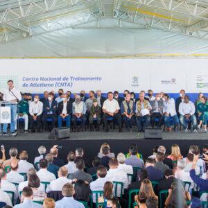 Centro de Atletismo será um marco para o esporte de Cascavel e do Paraná, afirma Pacheco