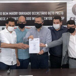 Beto Preto libera R$ 650 mil de emenda de Pacheco para retomada de obras da materno-infantil do HU