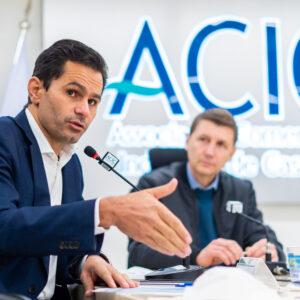 Convidado da ACIC | Pacheco falou aos empresários sobre projetos e destinação de recursos