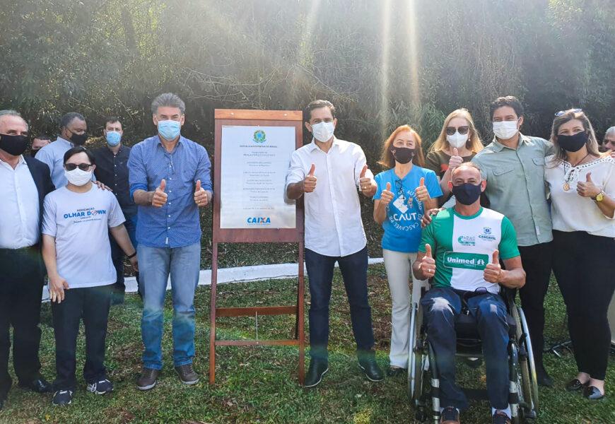 Cascavel | Inaugurado primeiro espaço 100% inclusivo do Paraná