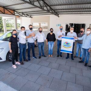 CEMIC recebe veículo 0km adquirido com recurso destinado por Pacheco